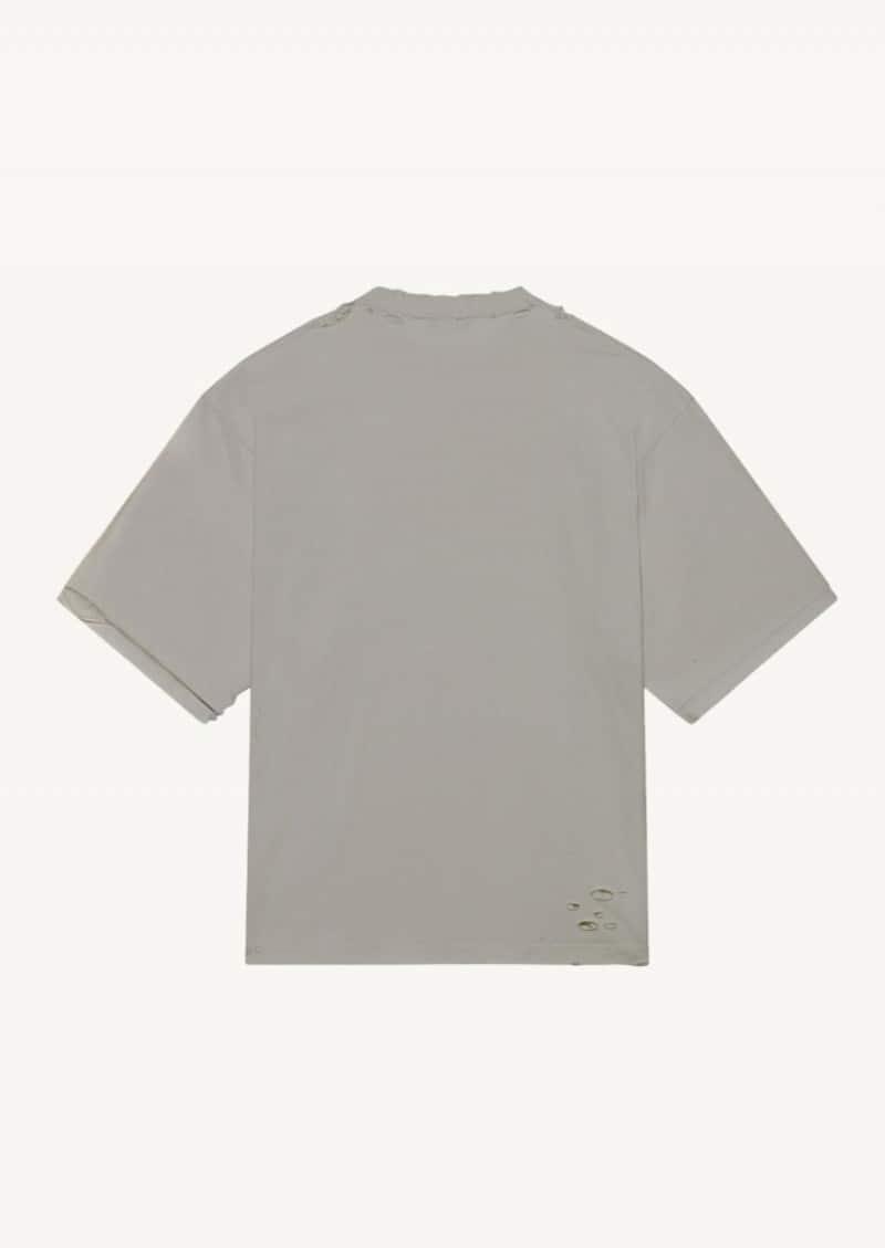 Steel grey BB Pixel boxy t-shirt