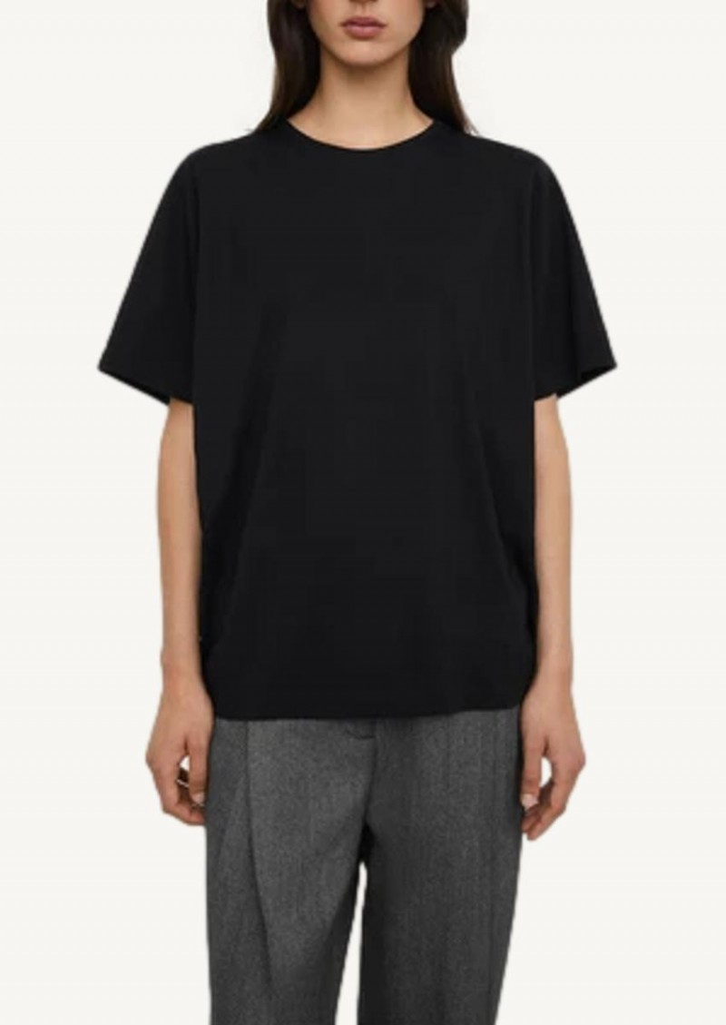 T-shirt en coton oversize noir