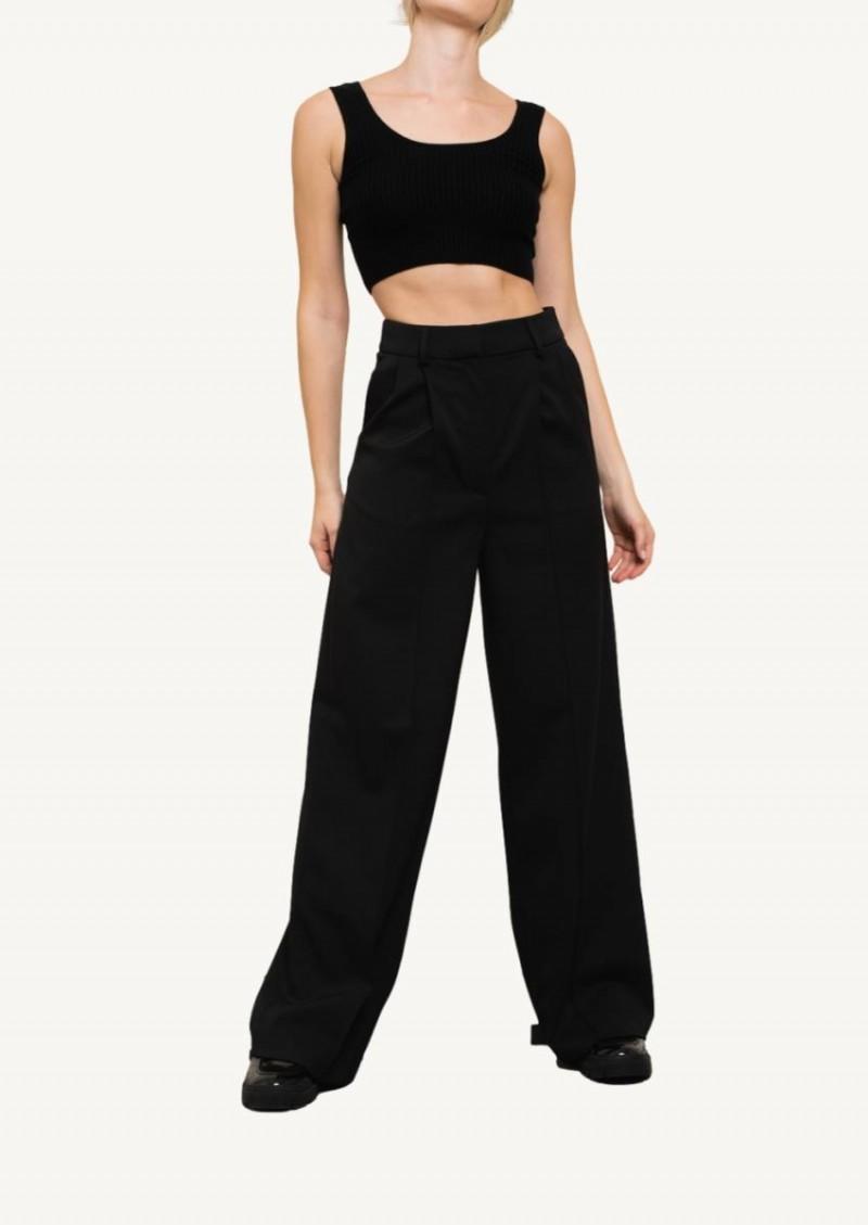 Pantalon taille haute Mouro noir