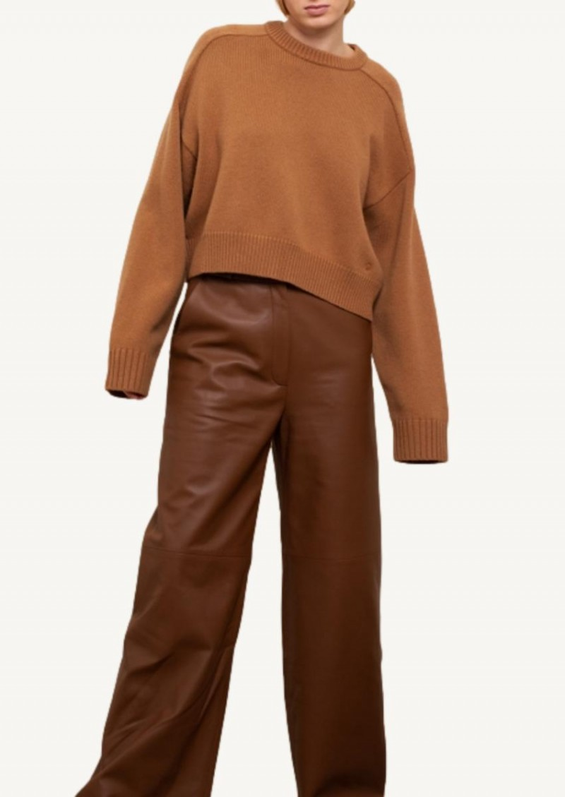 Camel Bruzzi Oversized sweater