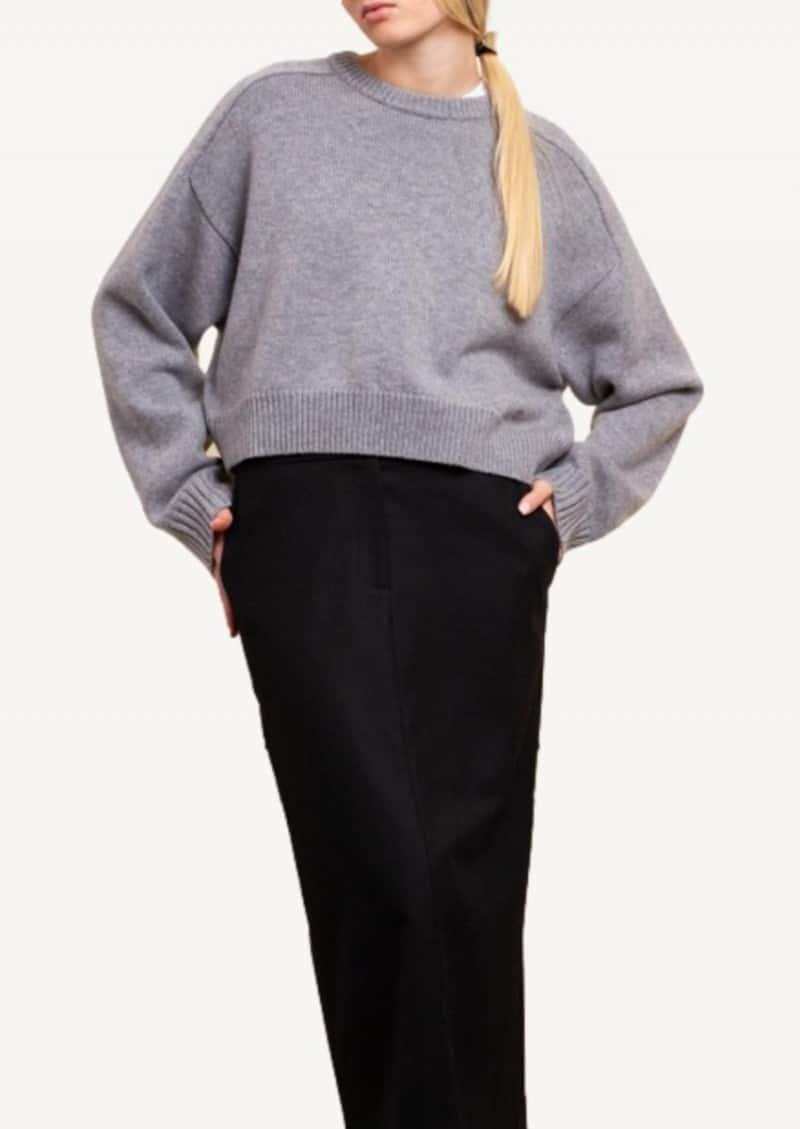 Grey Bruzzi Oversized sweater