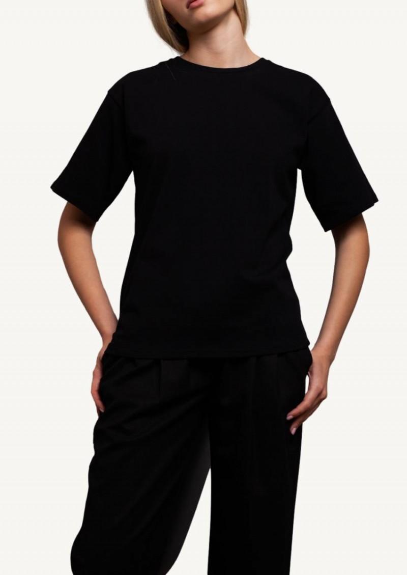 T-shirt Lipari en coton noir