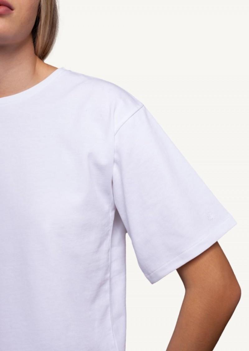 Lipari Black Cotton T-shirt