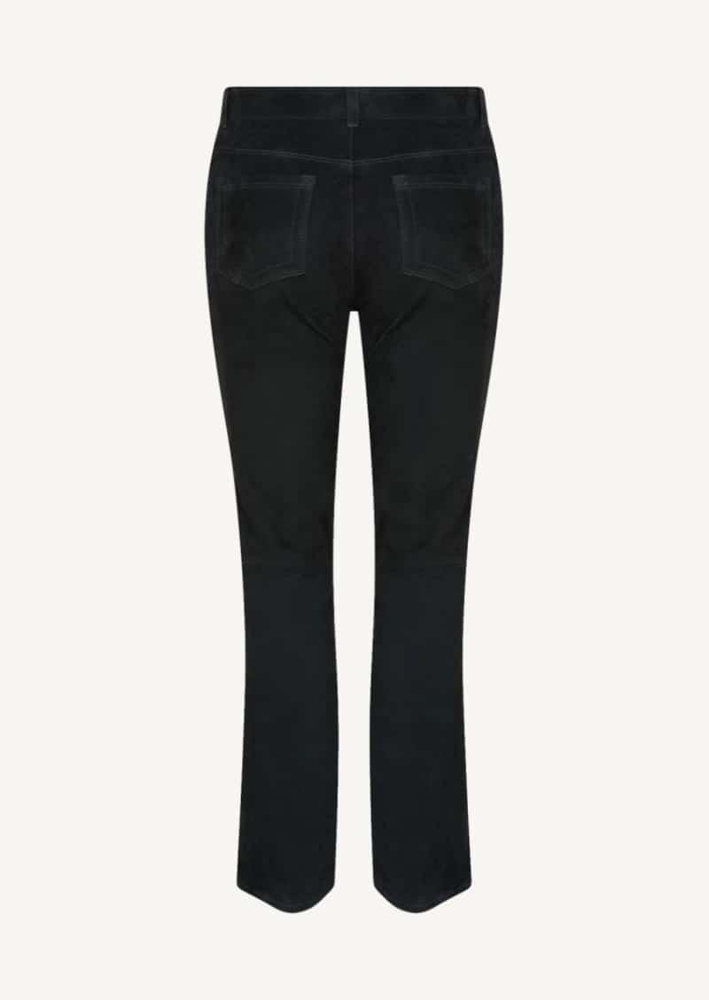 Pantalon en velours Dean Bitume