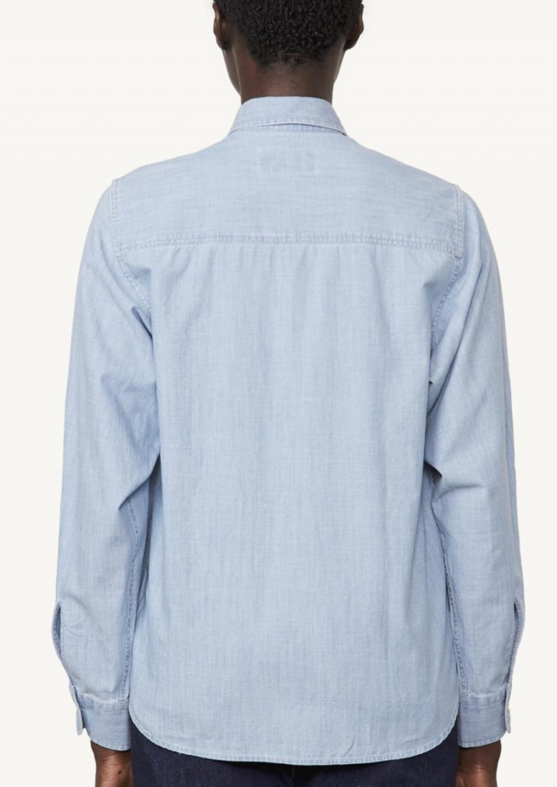 Chambray blue Elena shirt