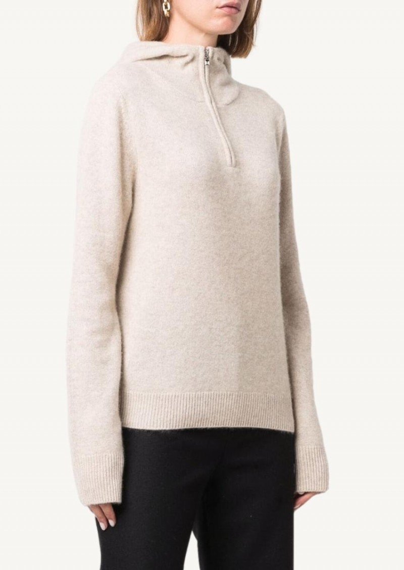 Oat Cashmere hoodie