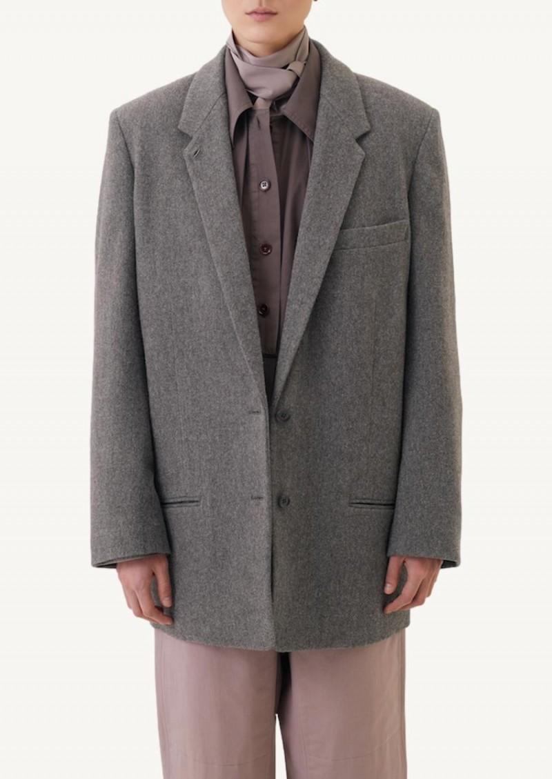 Taupe grey Boxy jacket