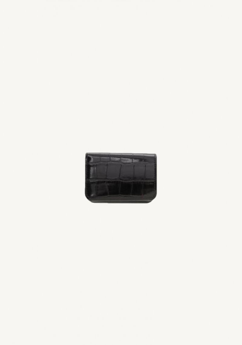 Mini portefeuille cash en noir