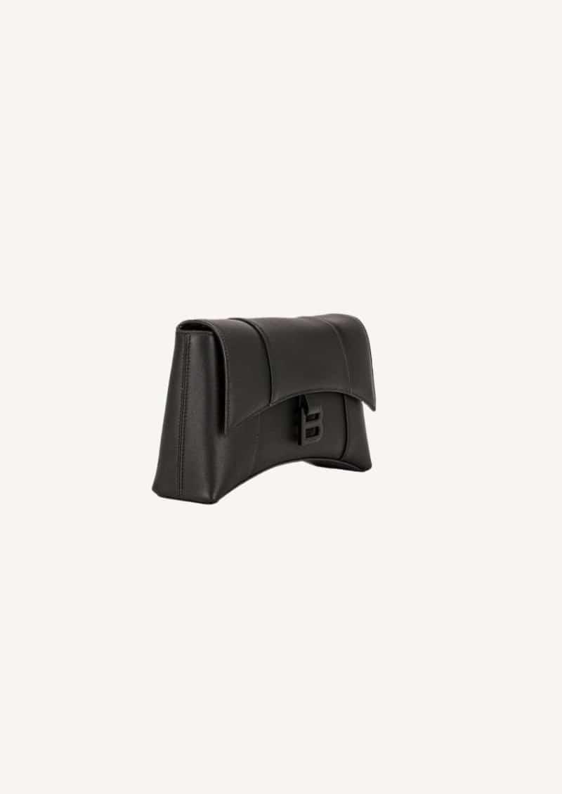 Black XS Soft Hourglass Bag