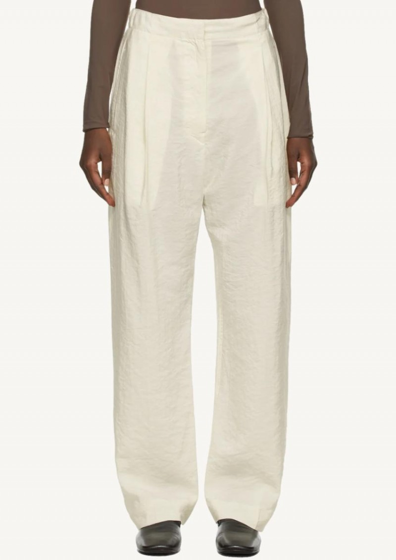 Off white elasticated pants