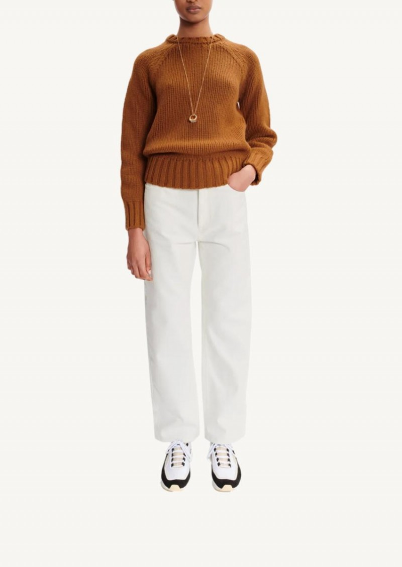Brown Ethan oversize sweater