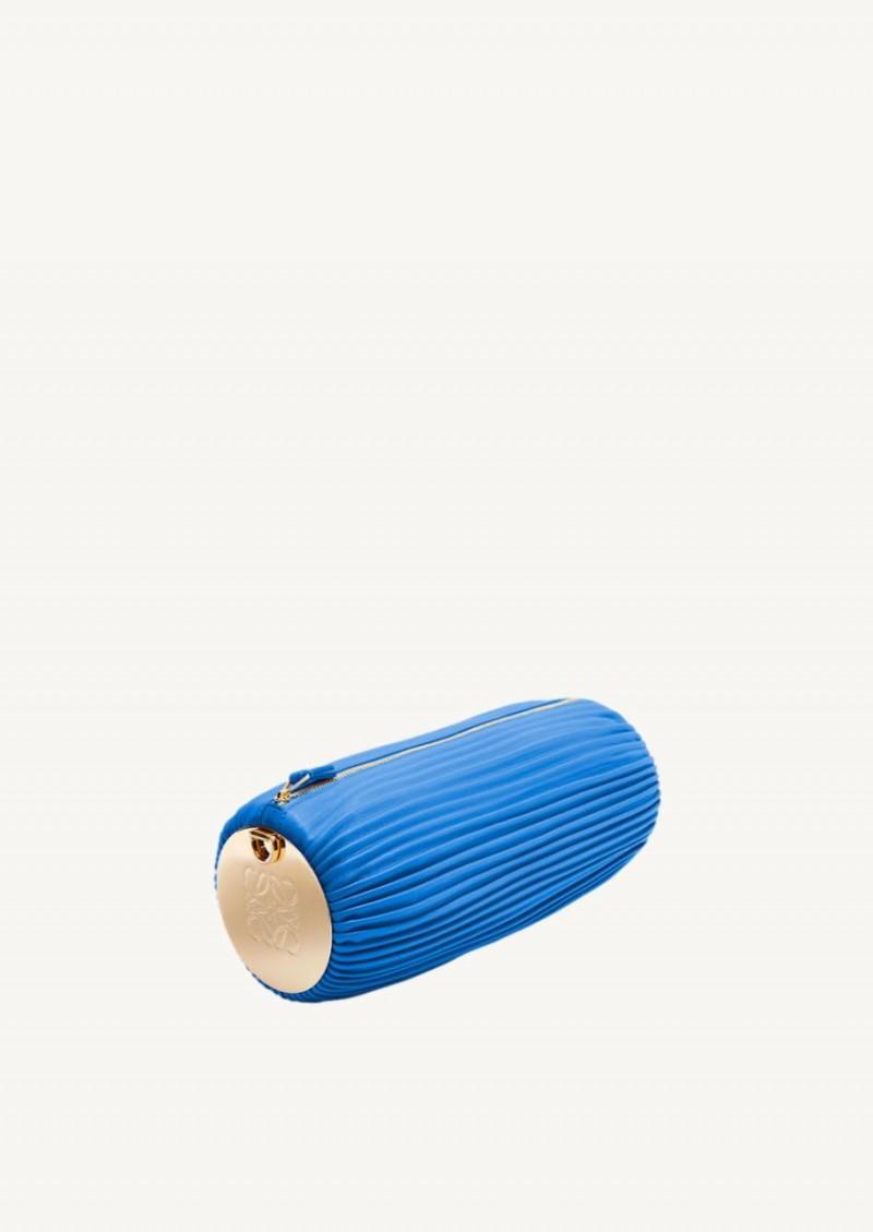 Sac bracelet convertible bleu