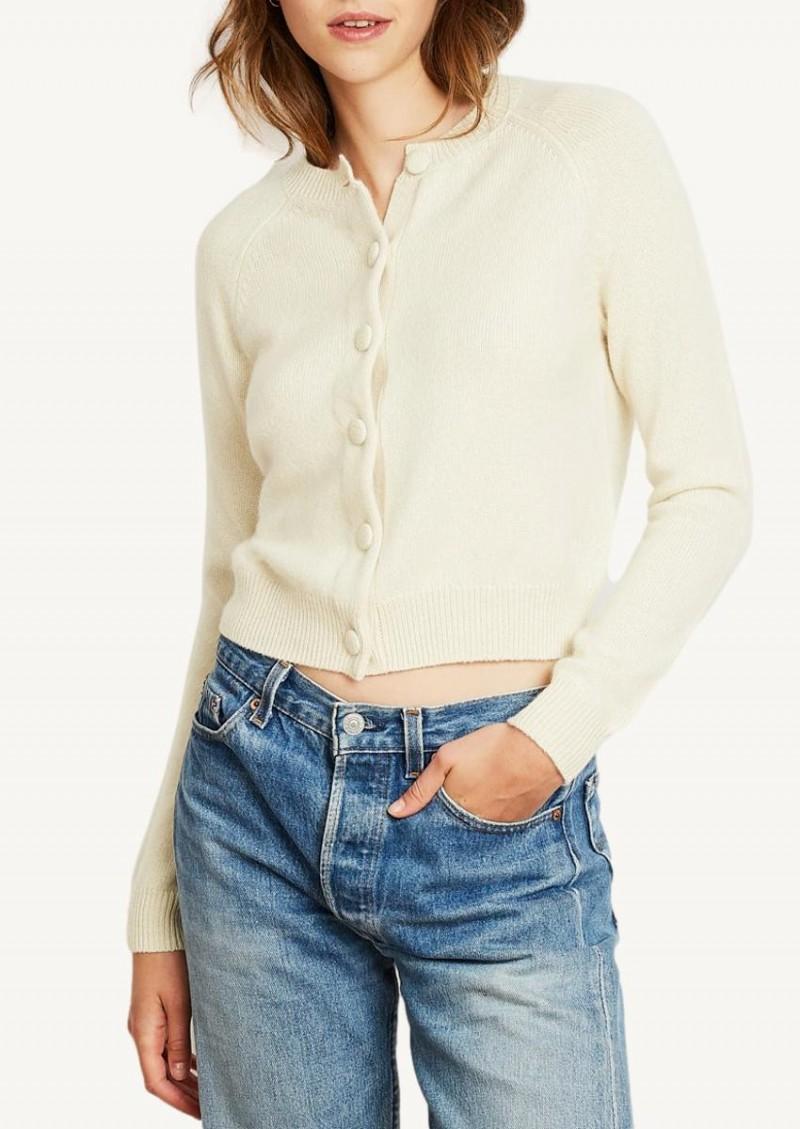 Cream Mila cardigan