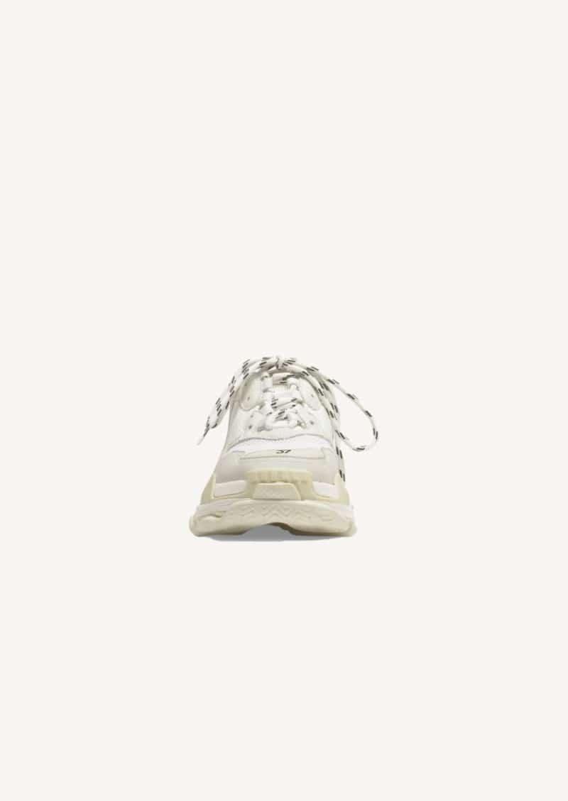 White Triple S sneaker