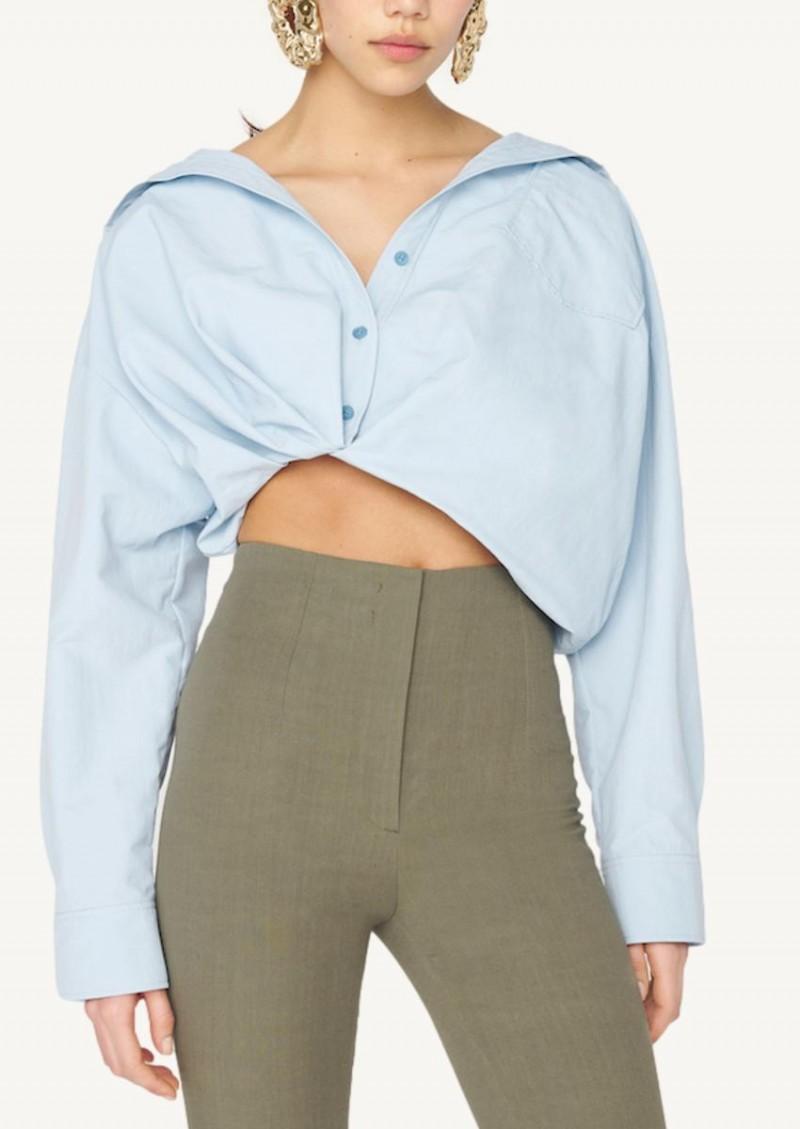 La chemise Mejean bleu