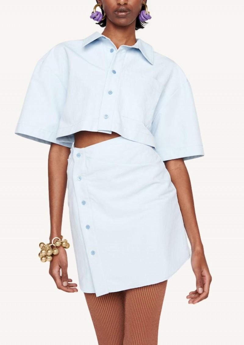La robe Arles bleu