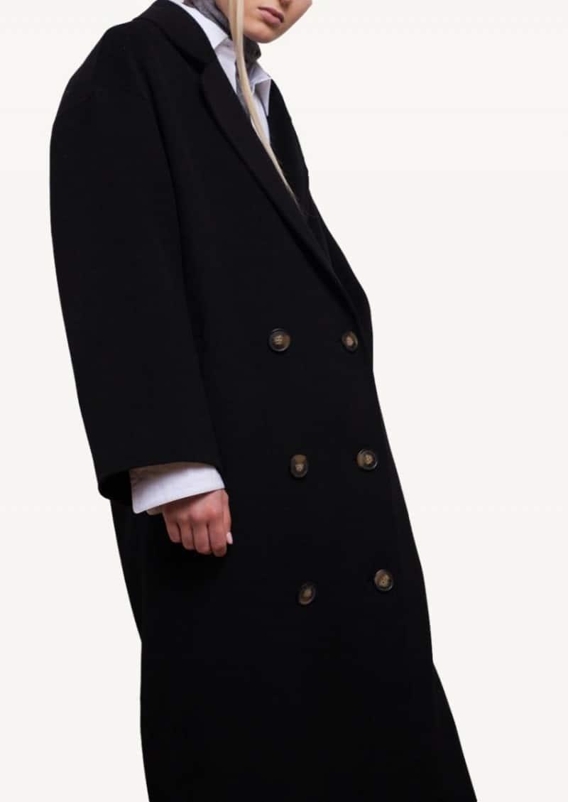 Black Borneo long coat