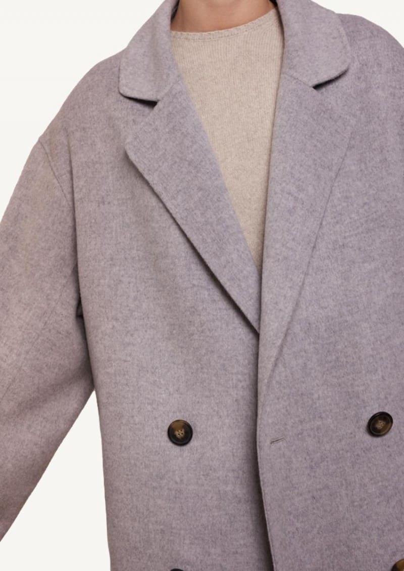 Manteau long Borneo gris