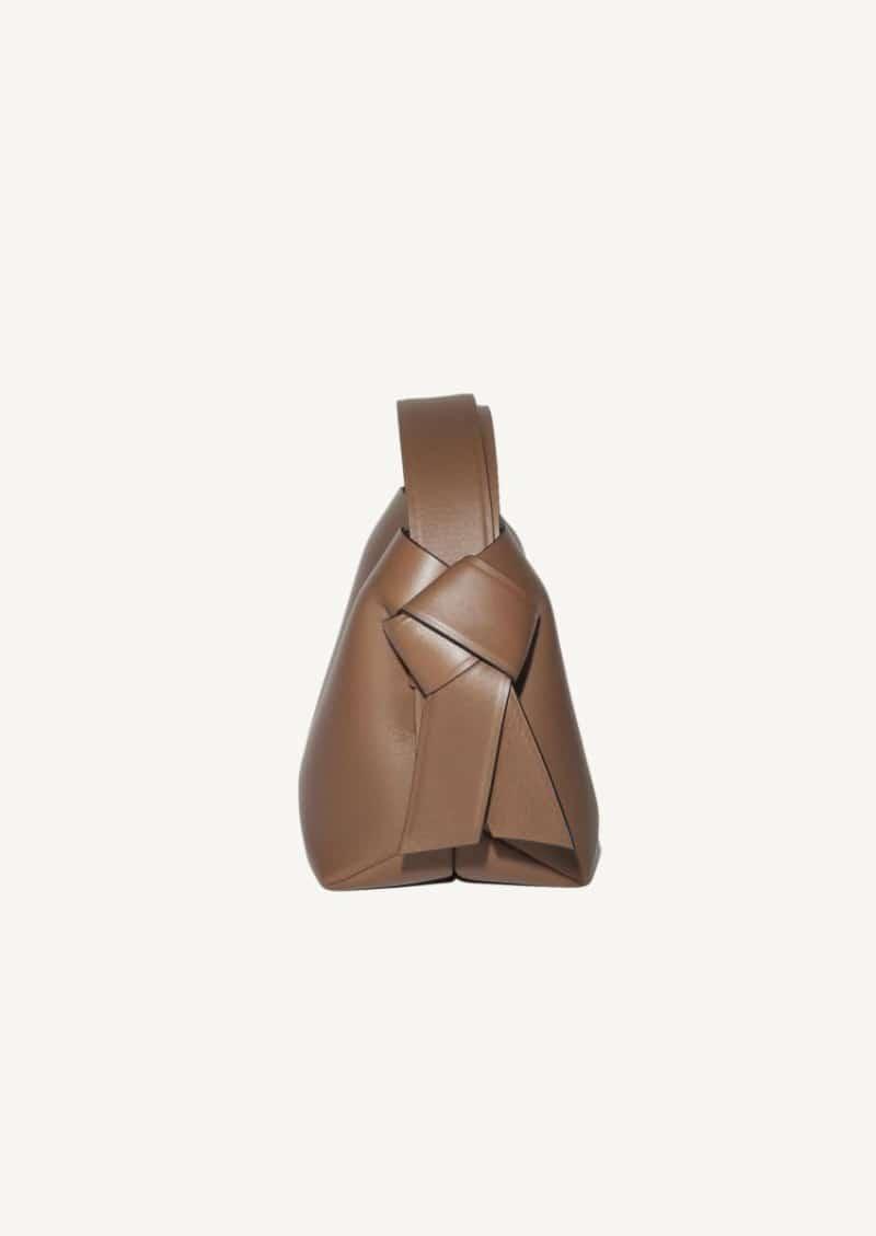 Camel brown Musubi mini bag