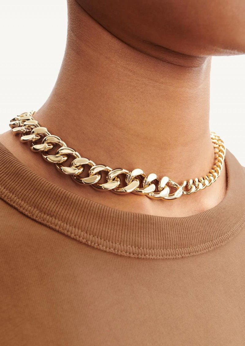 Gold Suzanne chain necklace