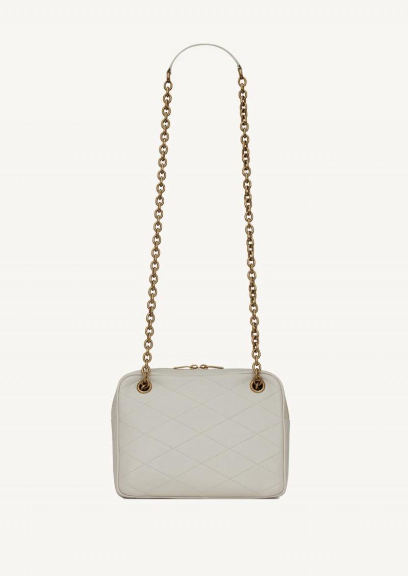 Petit sac chaine Le Maillon Crema soft