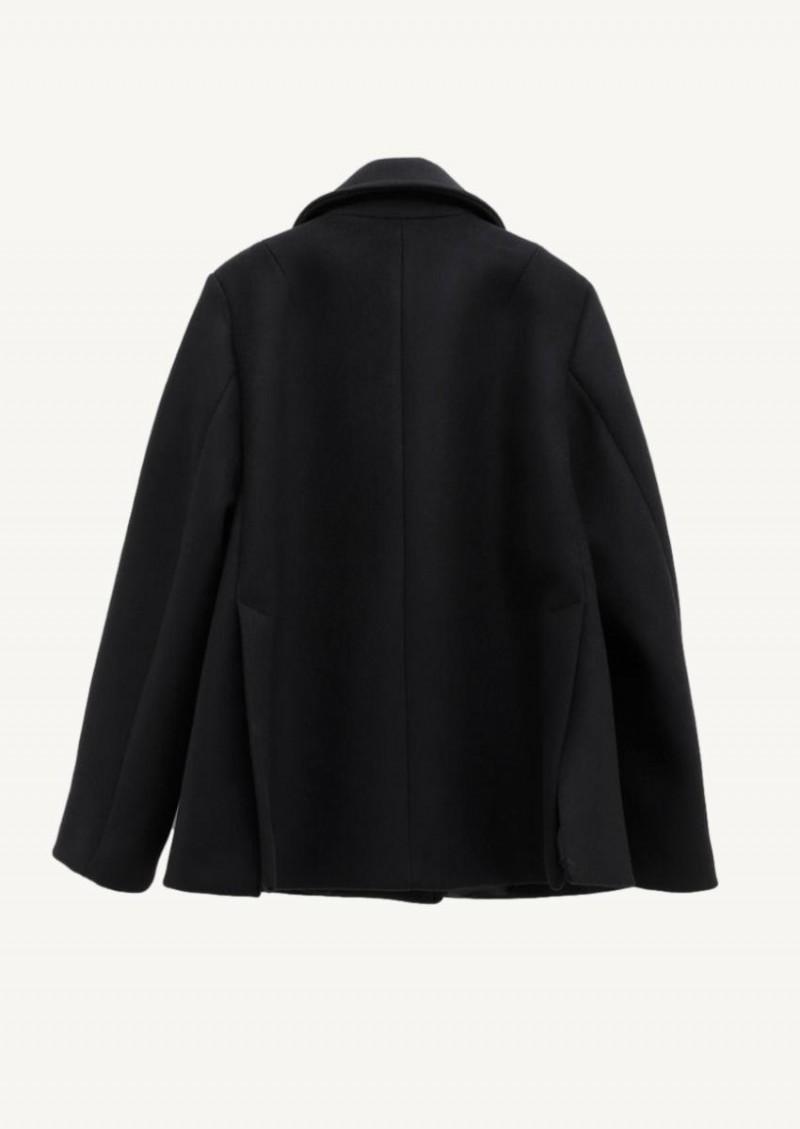 Black short coat