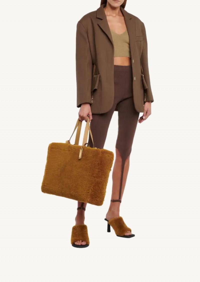 La veste Soco marron