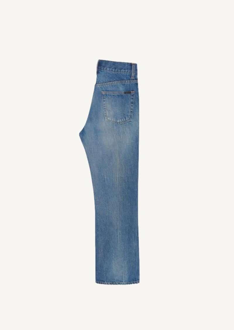 Jean françoise en denim authentic dark dirty blue