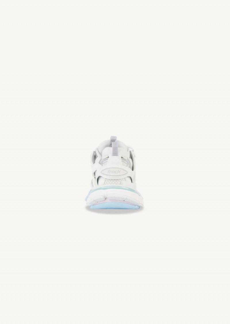 Sneaker Track pastel et blanc